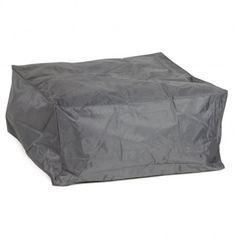 KOKOON Sidi Pouffe Beanbag Stool Dark Grey