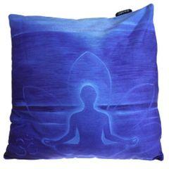 Deep Blue Buddha Cushion