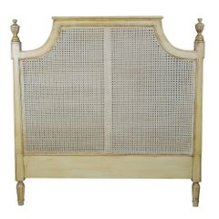 FRENCH Rattan Headboard 4ft6 Double Size / 5ft King Size