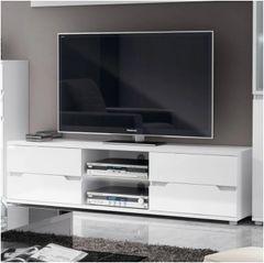 ROSE TV Unit High Gloss White