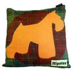 Scotty Dog Hipster Cushion