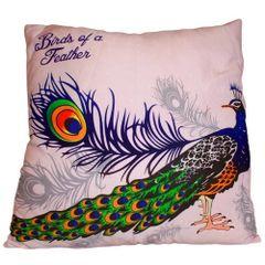 Strut Peacock Cushion