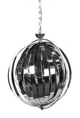 KOKOON Emily Chrome Ceiling Hanging Lamp