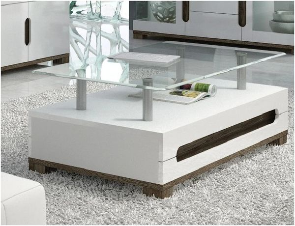 BLOSSOM White Gloss Coffee Table