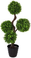Artificial Plant Large 90cm UV Boxwood Topiay Tree
