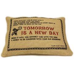 Tomorrow Jute Cushion