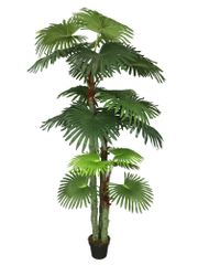 Artificial Fan Palm 210cm