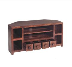 Indian Hub TOKO Mango Corner Tv Cabinet