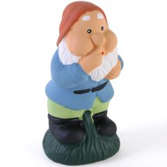 Terracotta Garden Gnome Ornament Figurine Outdoor