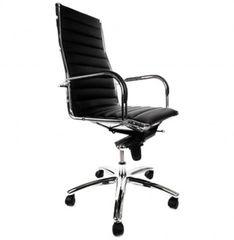 KOKOON Torino High Back Office Chair Black