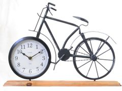 Metal Bike Clock 41cm