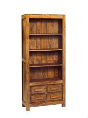 Indian Hub STONE SHEESHAM Large Bookcase