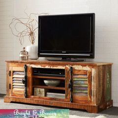 COASTAL Reclaimed Wooden TV Cabinet