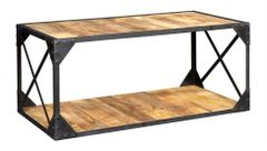 Indian Hub ASCOT Industrial Style Coffee Table
