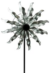 Double Windmill Garden Spinner 60""