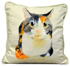 Cat Cushion 45cm x 45cm