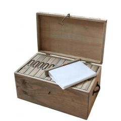 Picture Albums in Wooden Box