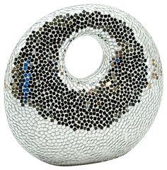 Silver Mosaic Ornament 50cm