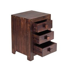 Indian Hub TOKO Mango 3 Drawer Chest