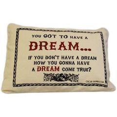 Dream Cotton Canvas Cushion