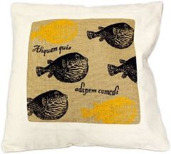 Fat Fish Cushion