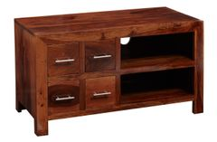 CUBE Tv Cabinet 4 Drawer