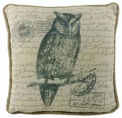 Owl Design Cushion 42cm