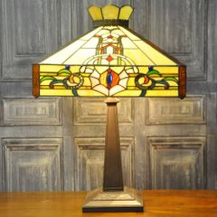 Macintosh Style Tiffany Lamp 22""