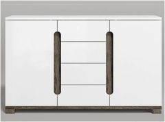 BLOSSOM White Gloss Sideboard