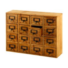 Storage Drawers (16 drawers)
