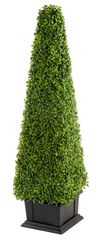 Large Super Realistic Artificial Plant 81cm Boxwood Tower Indoor Outdoor
