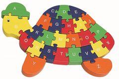 Wooden Tortoise 26 Piece Jigsaw Puzzle