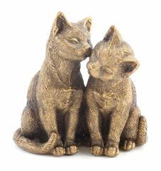 Bronzed Cats 18cm