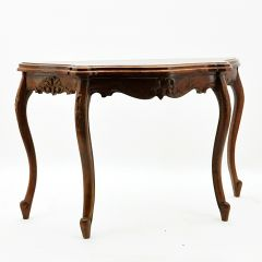 Louis Xv French Mahogany Table 120cmx80cmx44cm