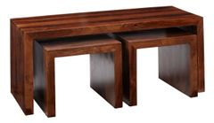 CUBE Long John Coffee Table Set Of 3