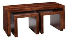 CUBE Long John Coffee Table Set Of 3