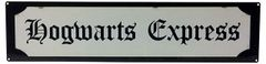 Metal Street Sign HOGWARTS EXPRESS 70cm x 17cm