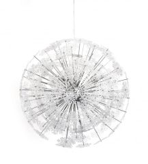 KOKOON Snowflake Chrome Ceiling Hanging Lamp