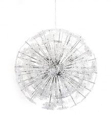 KOKOON Snowflake Chrome Ceiling Hanging Lamp