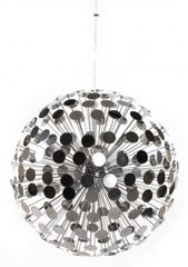 KOKOON Chrome Disco Ceiling Hanging Lamp