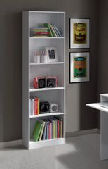 JUNO White Gloss Bookcase