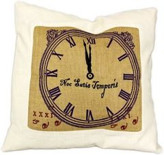 Never Enough Time Cushion