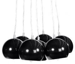 KOKOON Eklektik Black Ceiling Hanging Lamp