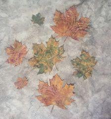 Fall Leaves, Laser Cut Applique, Set of 7