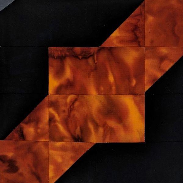 Square Dance Laser Cut Quilt Kit Black And Orange Laser