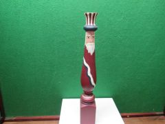 Hand painted Uncle Sam Wooden Post