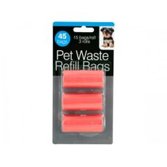 Pet Waste Refill Bags, Case of 24