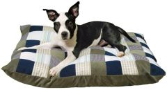 Patchwork Quilted Pet Bed, Topet USA