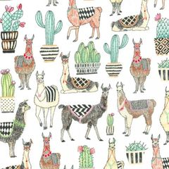 Michael Miller Lovely Llamas