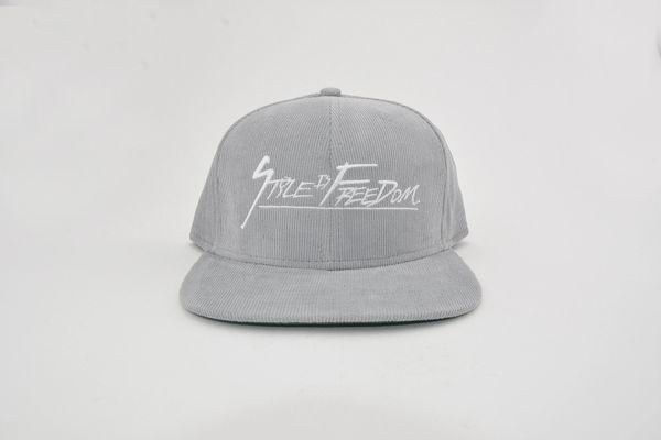 SIF Corduroy Strapback Hat